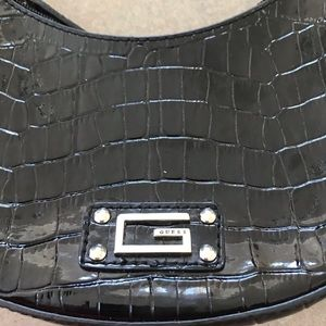 *3/$21 Guess Black Patent Leather Purse
